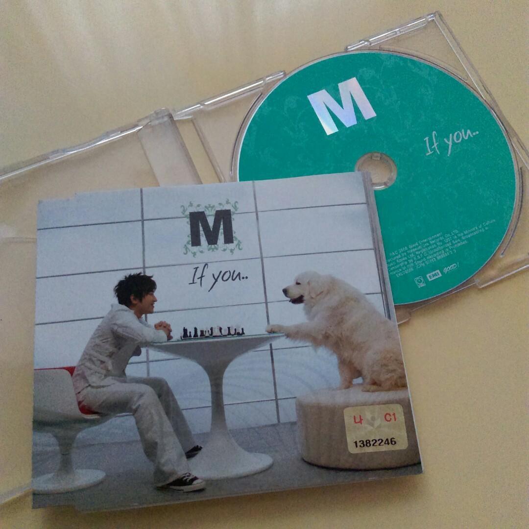 二手韓國 MINWOO李珉雨2005 If You 正版CD