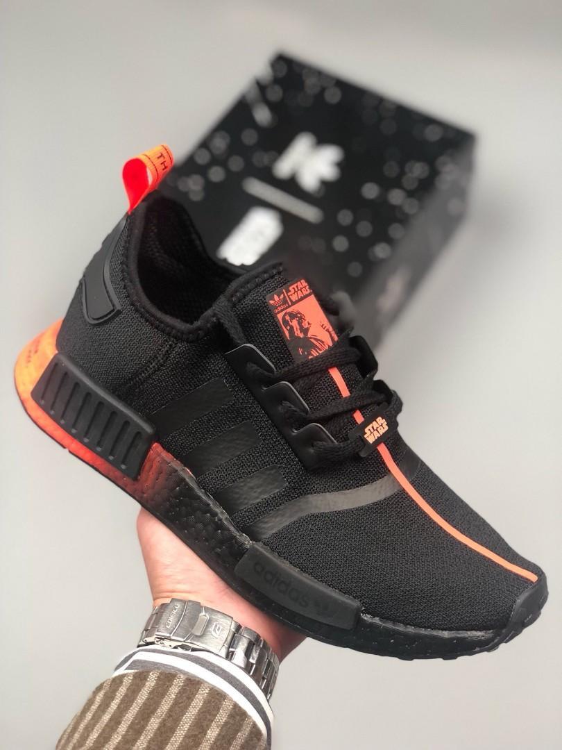 Adidas NMD star wars darth vader, Men's Fashion, Footwear ...