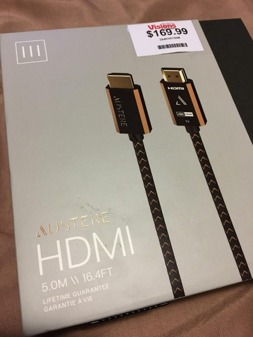 Brand new Austere 4K HDMI cable
