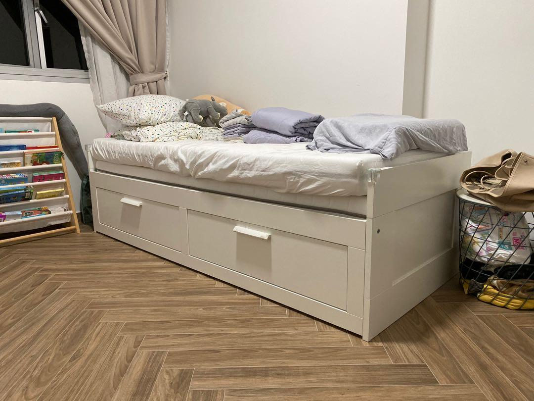 Brimnes Day Bed Furniture Beds Mattresses On Carousell