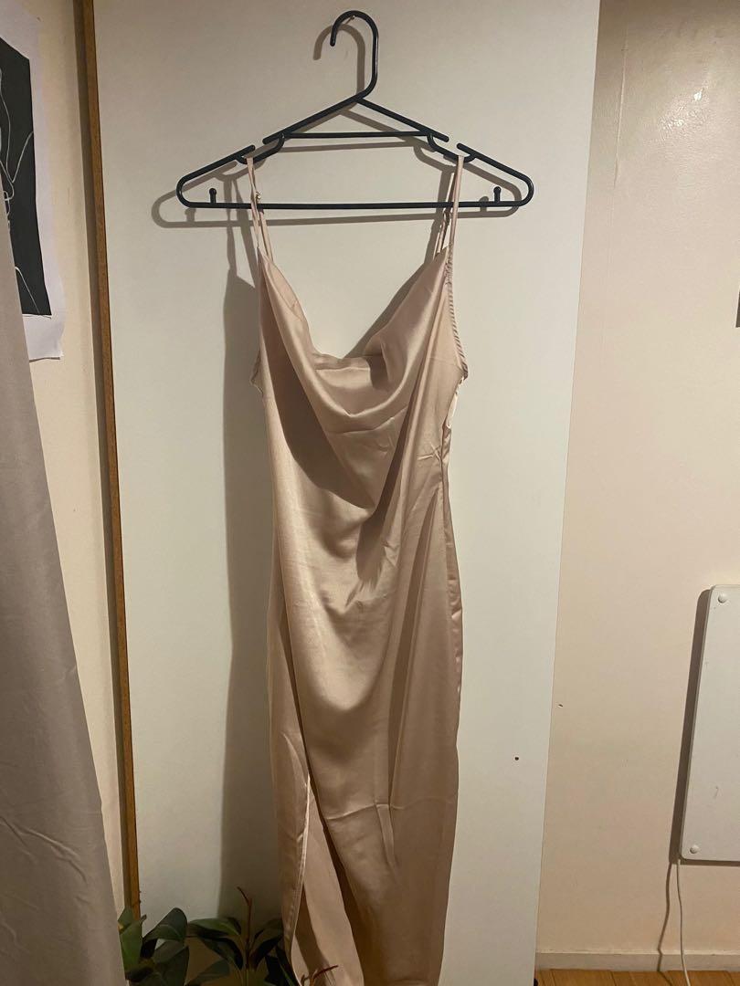 Champagne Slip dress size 8