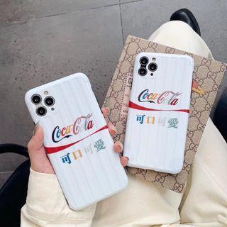 Coca-Cola white iPhone case 可樂 可愛 手機套(包平郵)