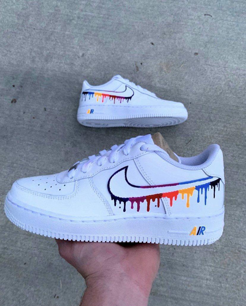 Nike Air Force 1 (Custom) UNAUTHENTIC