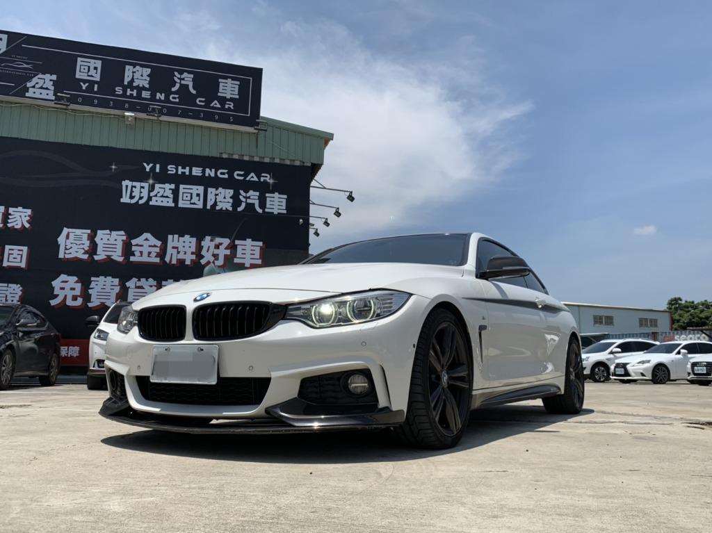 FB搜尋【世康中古車買賣】《熱門車款》2013年BMW3.0T 435白
