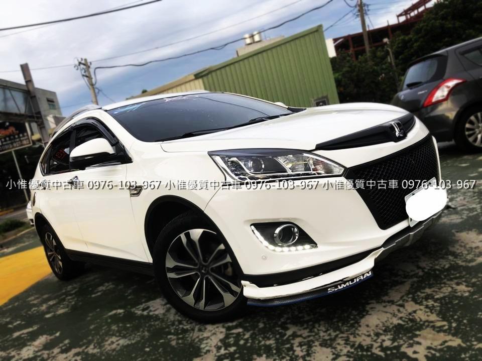 FB搜尋【世康中古車買賣】《熱門車款》2015年納智捷 2.0 U6 ECO Hyper頂級白
