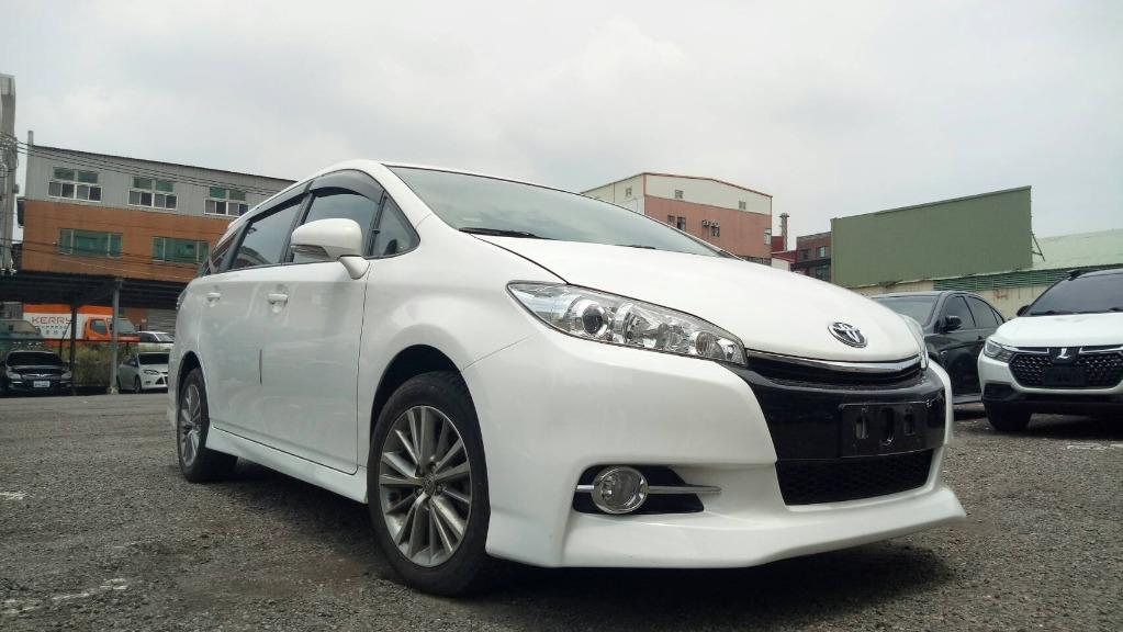 FB搜尋【世康中古車買賣】《熱門車款》2015年豐田 2.0 WISH E版 白