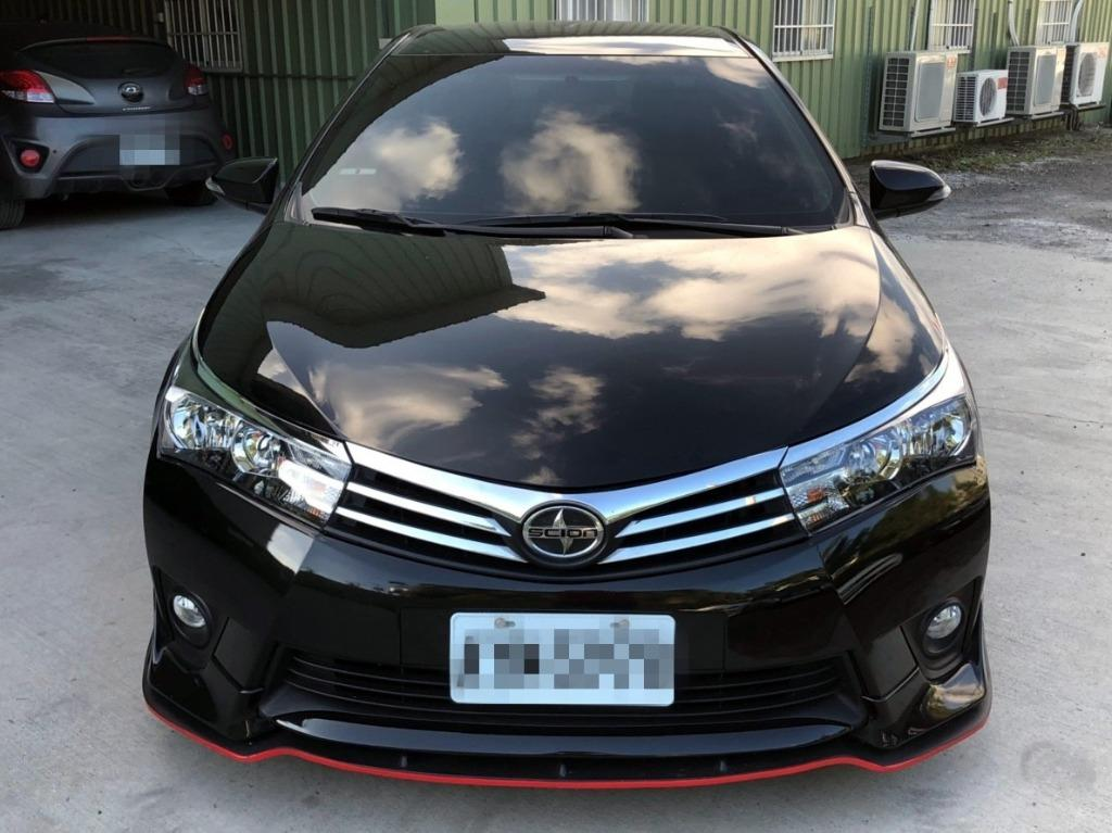 FB搜尋【世康中古車買賣】《熱門車款》2015年豐田 ALTIS S版 黑