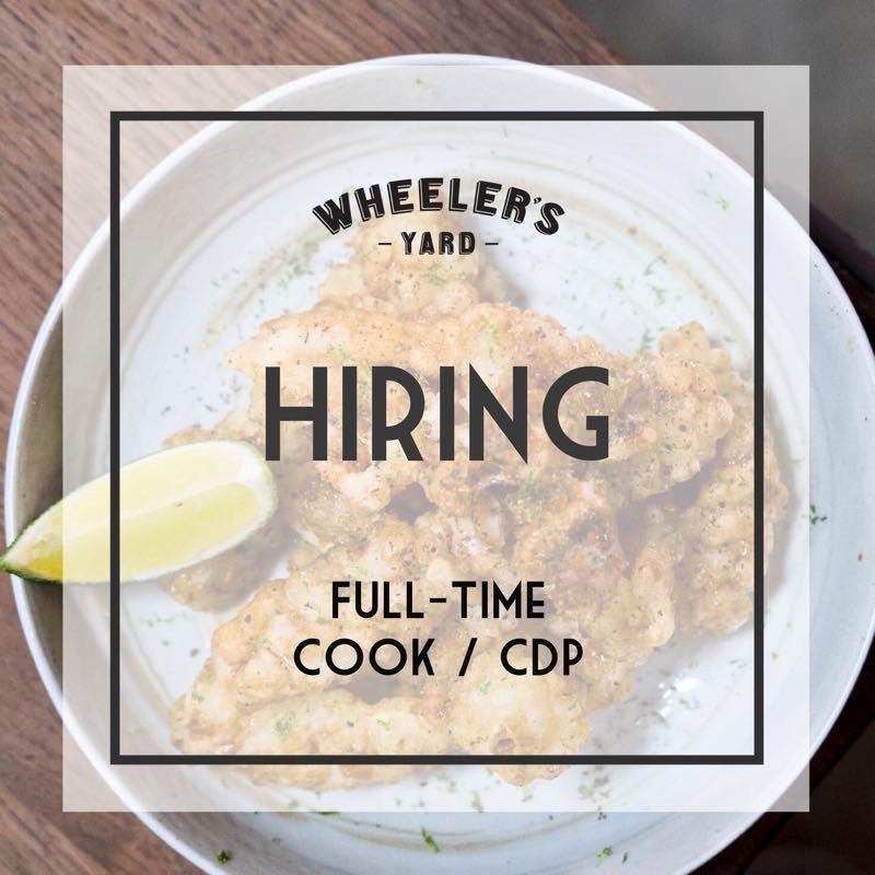 Full-time Cook (SG/PR only)
