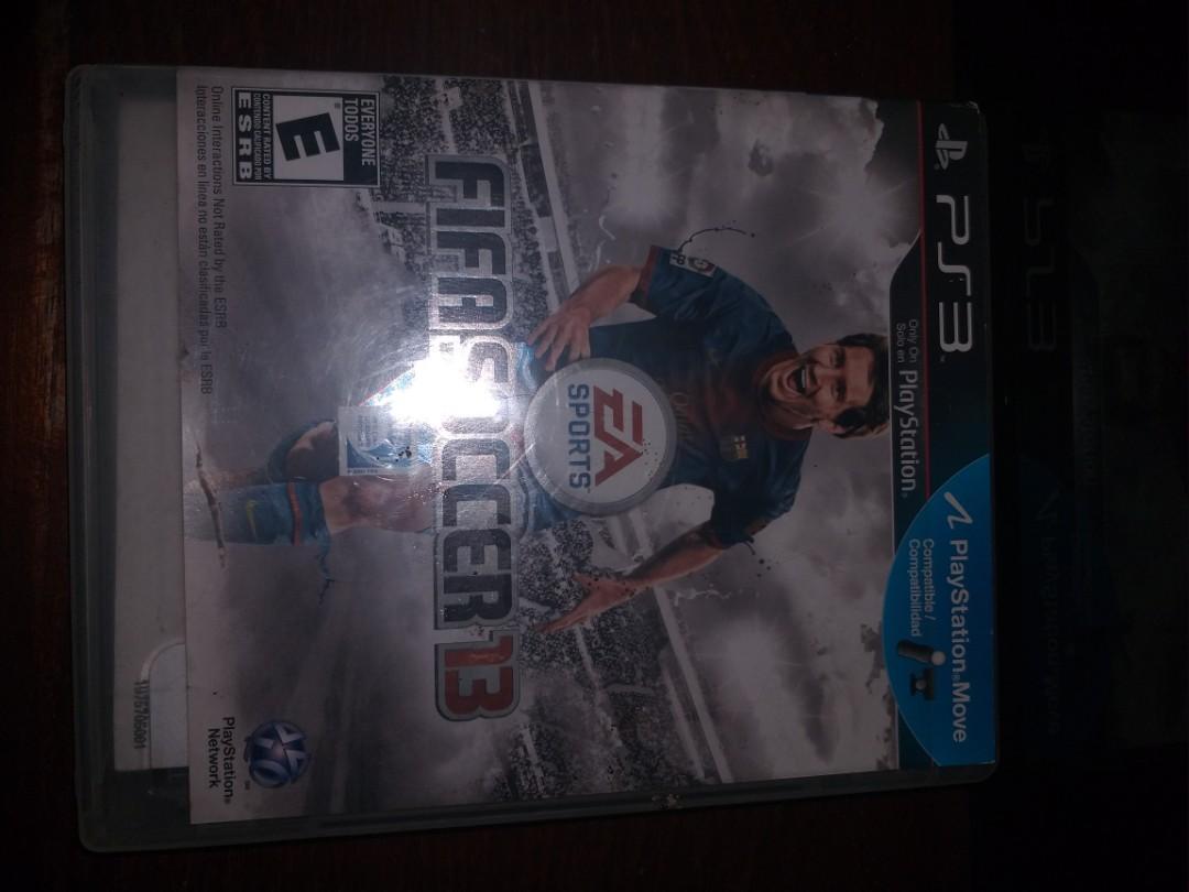 Games Kaset PS3 Playstation 3 Fifa Soccer 13 2013