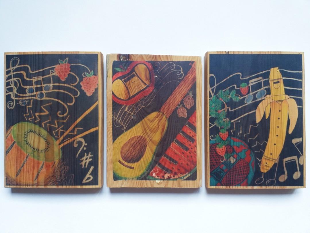Lukisan Musik/Buah-Buahan LIMITED EDITION