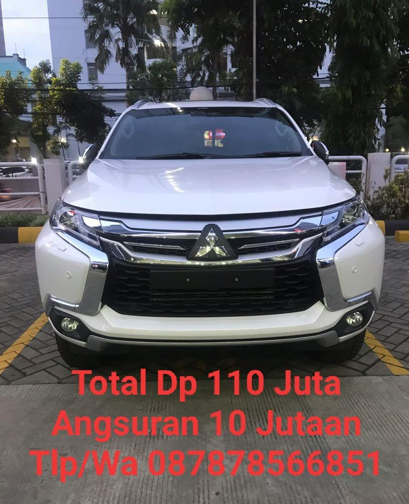 Mitsubishi Pajero Stok 2019 (BARU) Diskon Besar DP Ringan