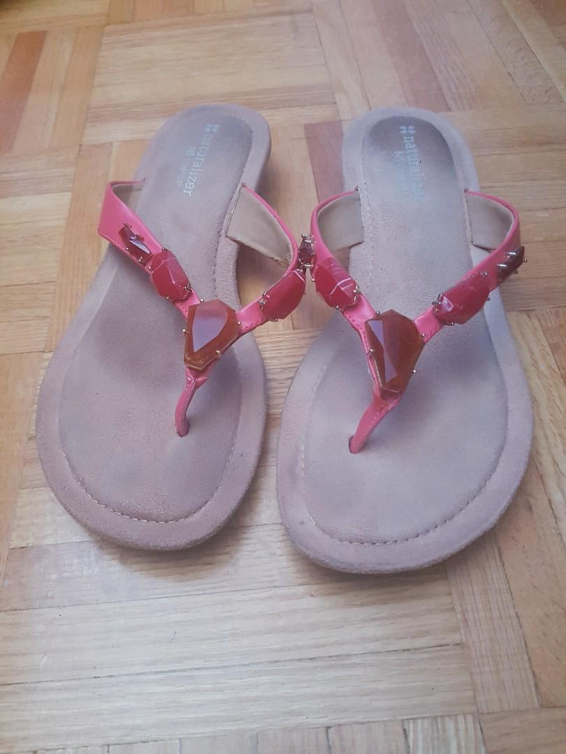 Naturalizer jeweled sandals