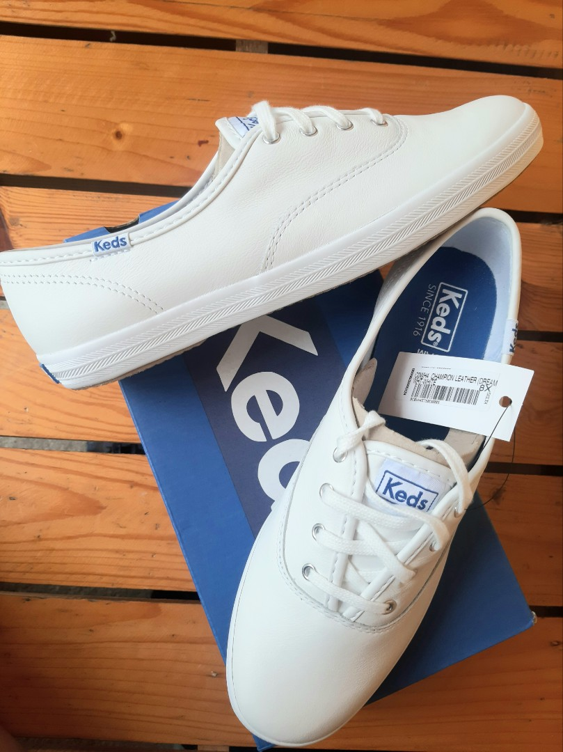 Original Keds Champion Leather Sneakers