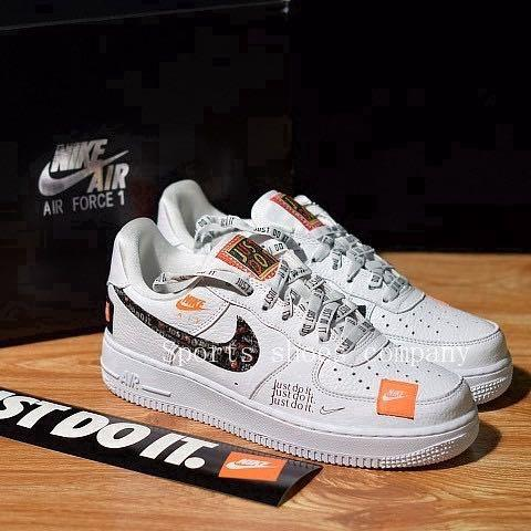PO) Nike Air force 1 Just Do It AF1
