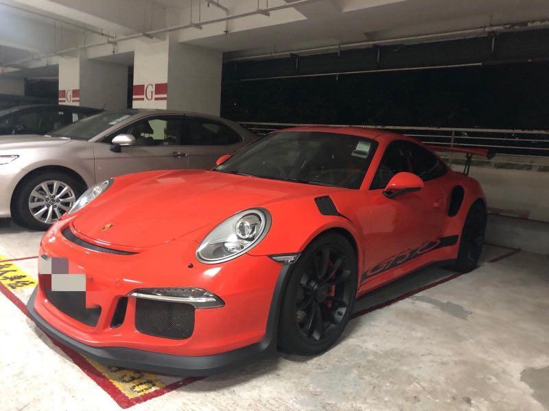 Porsche GT3 RS Auto