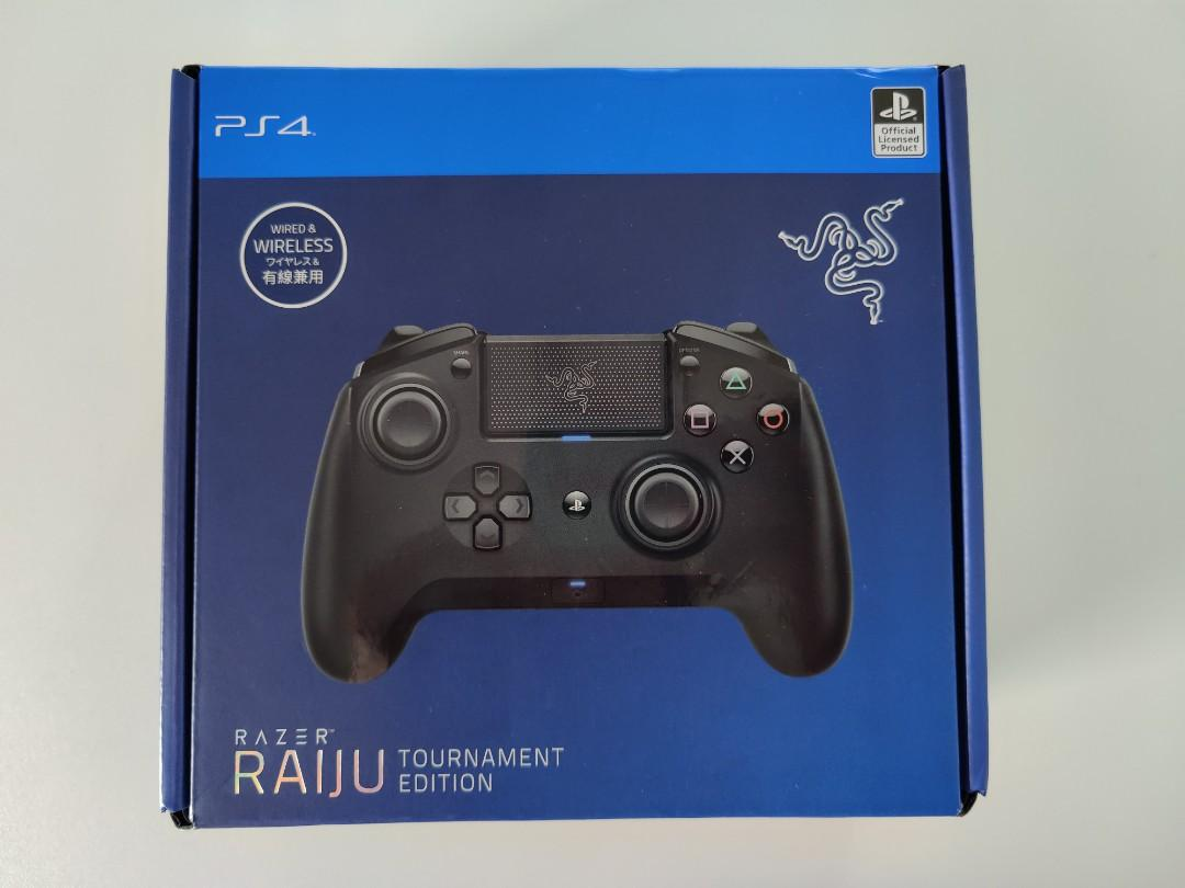 Razer Raiju Tournament Edition Controller Ps4 Toys Games Video Gaming Video Games On Carousell Two razer raiju controllers for playstation 4 were announced at gamescom 2018, priced at $200 and $150 respectively. carousell
