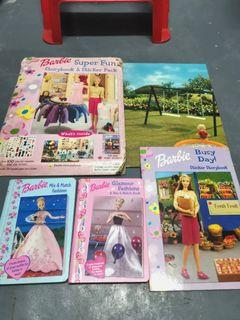 TAKE ALL Barbie Mix & Match + Storybook w/ Washable Stickers