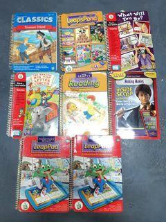 TAKE ALL LeapPad Books (w/o game card)