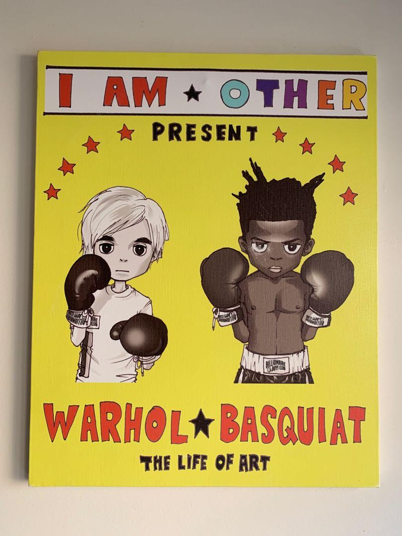 Mina Kwon -The Life of Art - Warhol x Basquiat - I Am Other