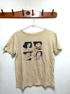 少女T-shirt