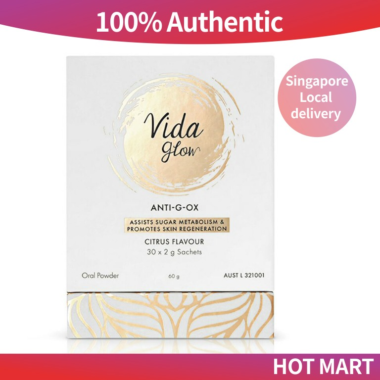 Vida Glow ANTI-G-OX 2g * 30 闪释粉, Health & Beauty, Face ...