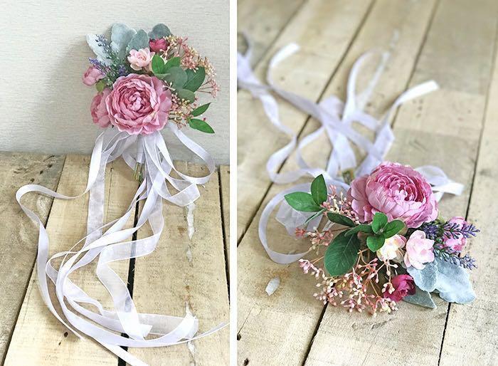 Wedding Solemnisation Decoration Artificial Flower Arrangement Gardening Flowers Bouquets On Carousell
