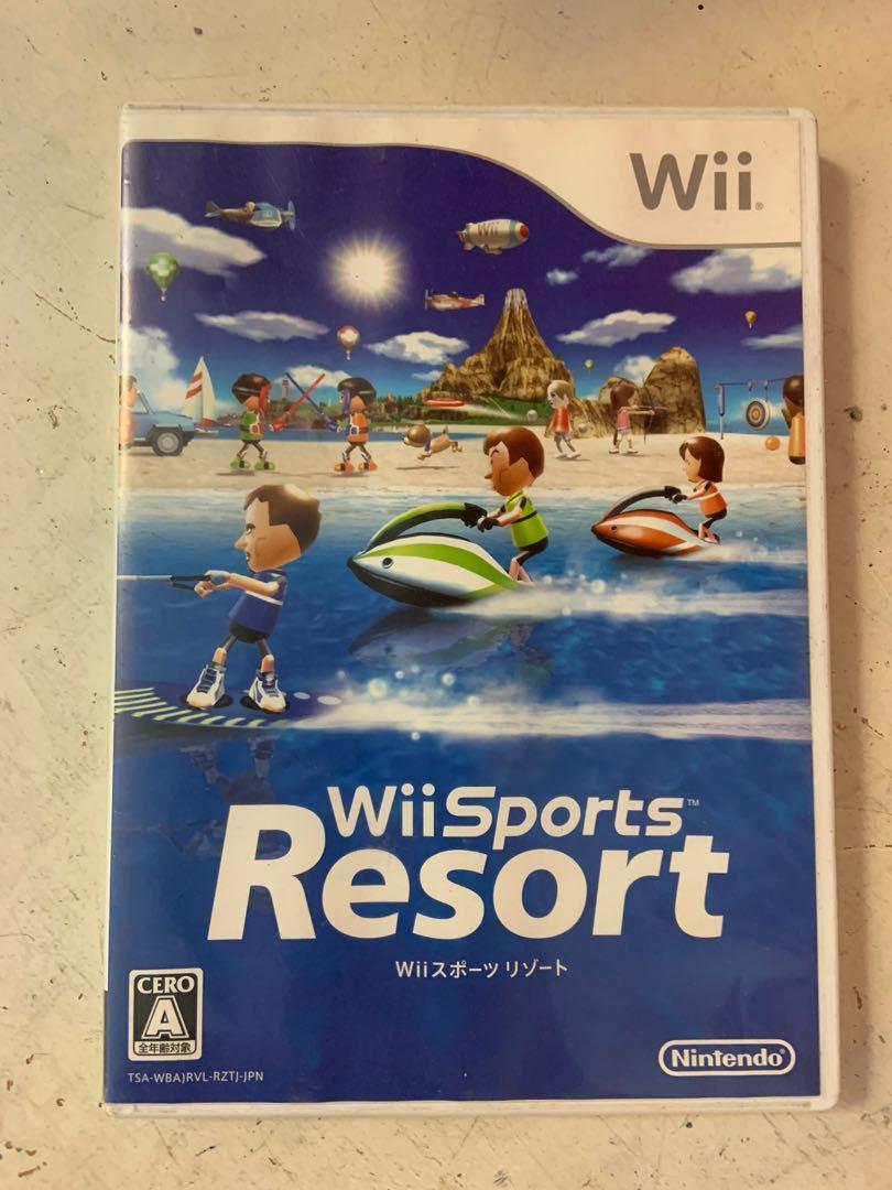 Wii Soprts Resort二手日版遊戲片