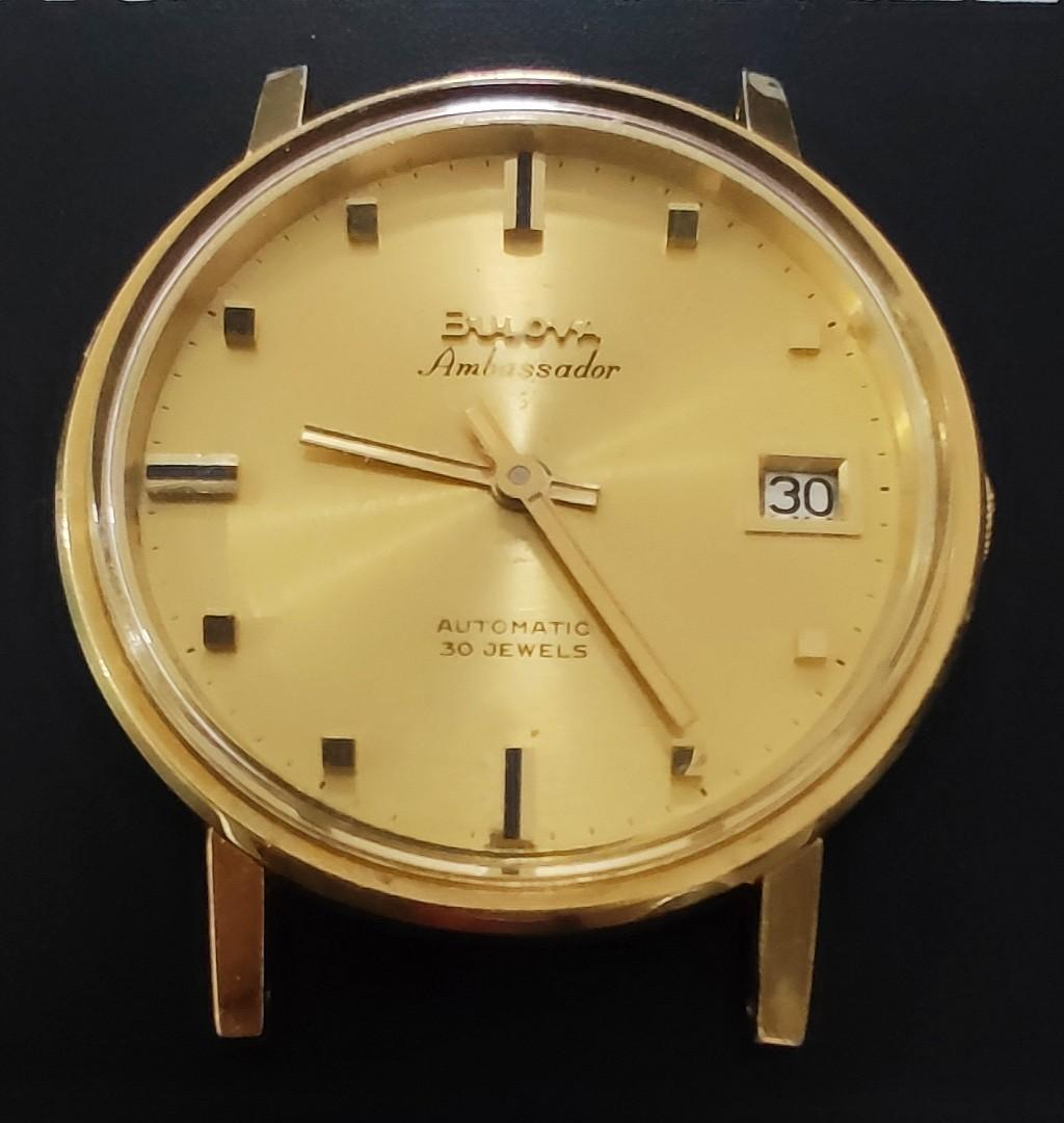 寶露華18k黃金錶