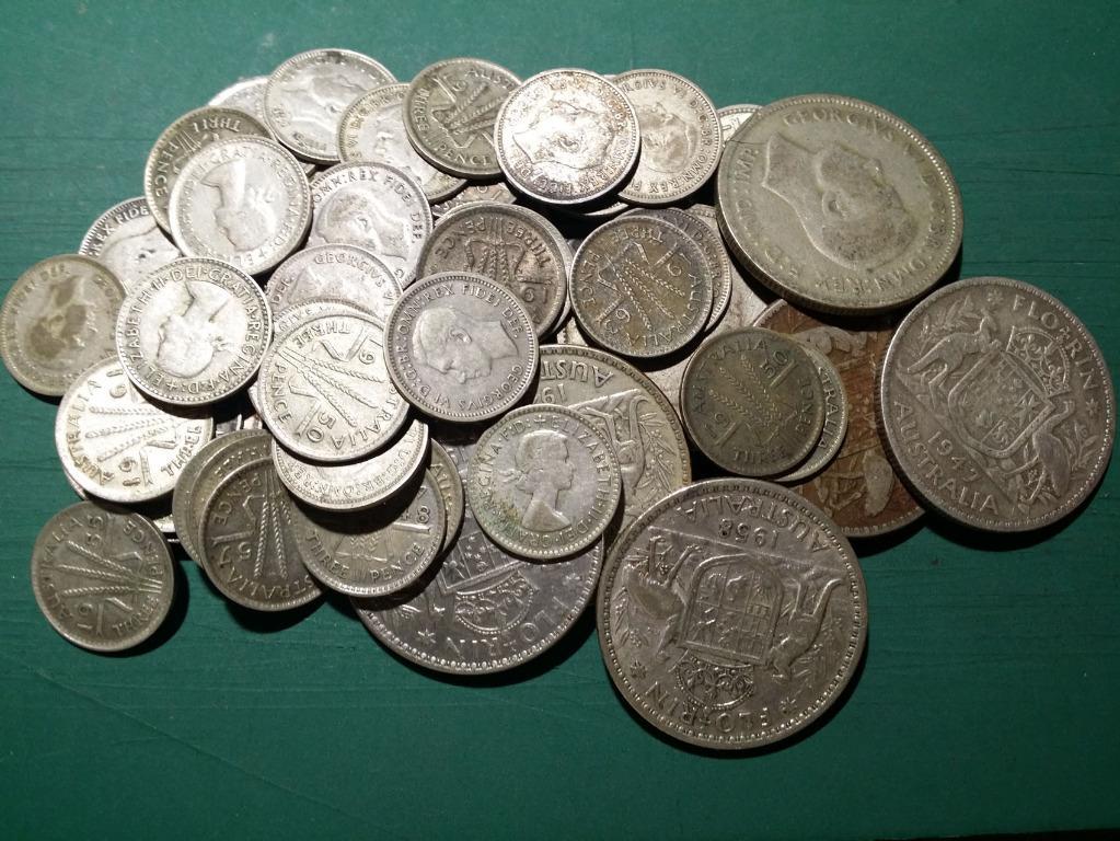 1946-63 澳洲 銀幣 一批