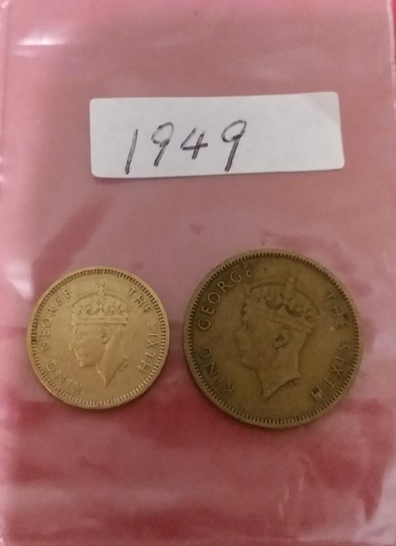 男皇頭硬幣-1949年