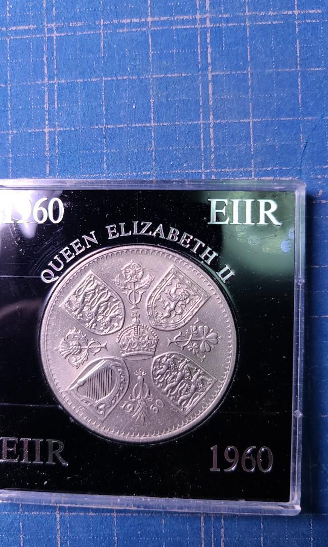 1960女皇5司令紀念幣連盒