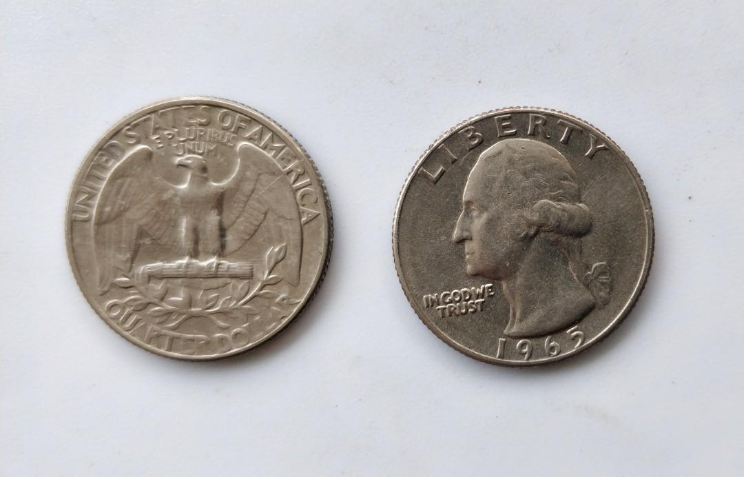1965 美金 Quarter Dollar
