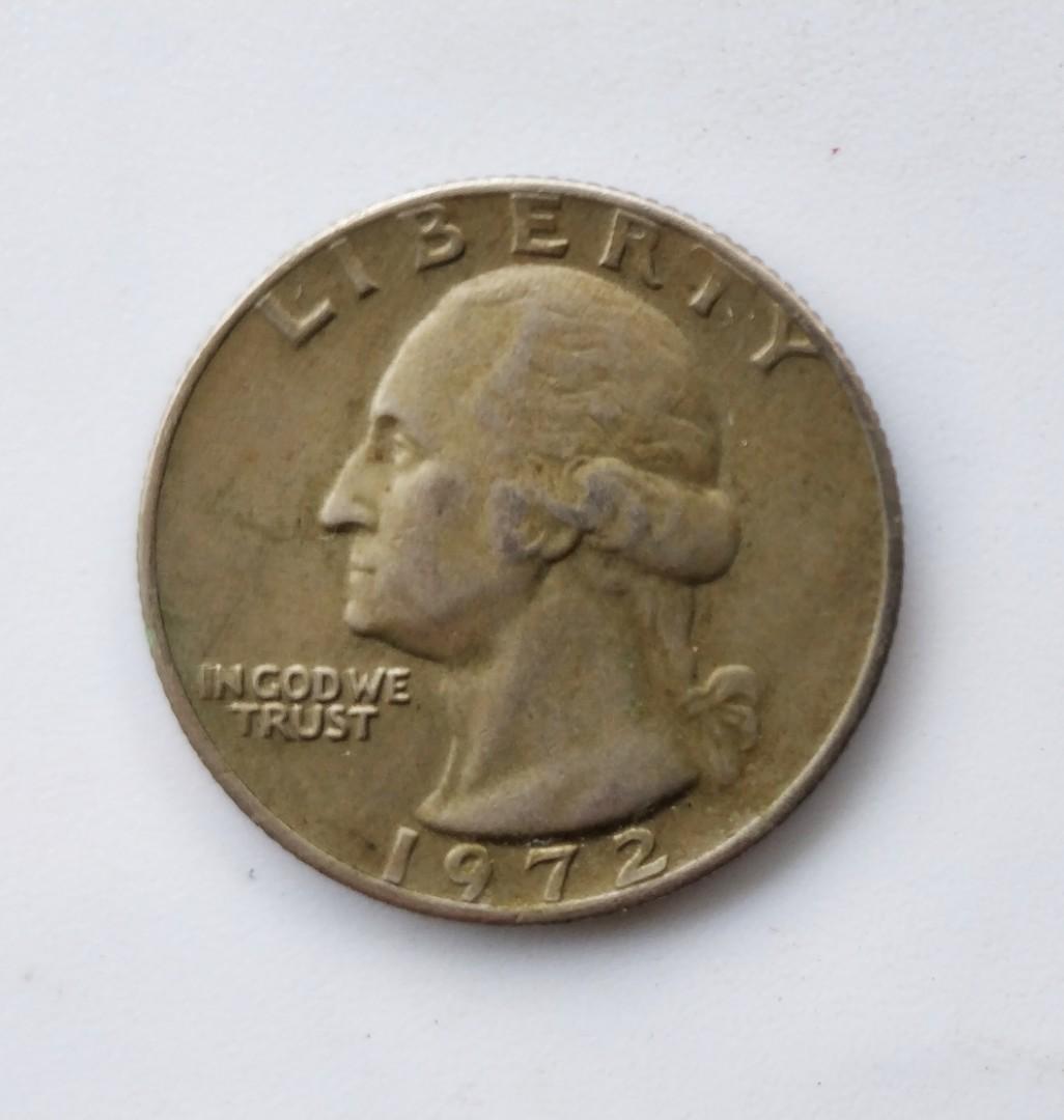1972 美金 Quarter Dollar