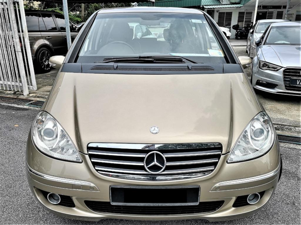2006 Mercedes Benz A170 AVANTGARDE 1.7 (A)CBU High Specs Hatchback [LOCAL CBU][ONE OWNER][TIP-TOP CONDITION]
