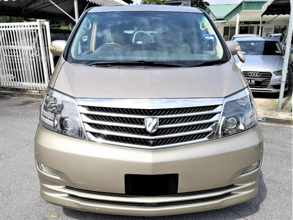 2006 REGISTER 2007 Toyota Alphard 3.0 G MPV [ONE OWNER][2 PPOWER DOOR][POWER BOOT][HOME THEATER][SUNROOF][PROMOTION]