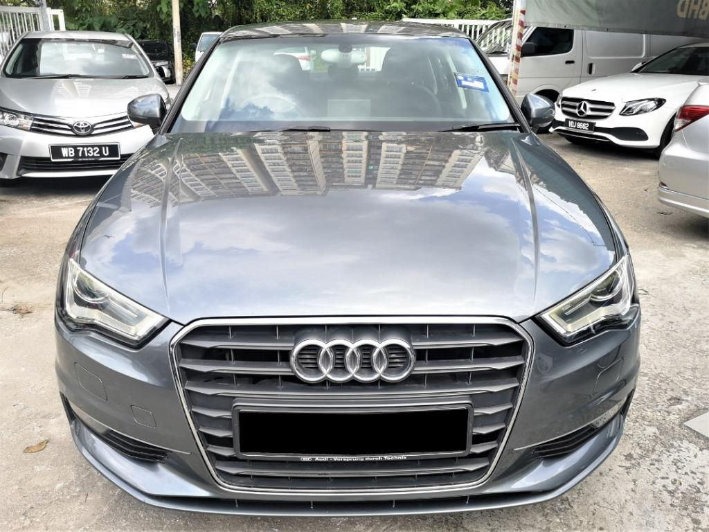 2015 Audi A3 1.4 TFSI Sedan [FULL SERVICE RECORD][NEW MICHELIN PS4 TYRES][LOW MILEAGE][ONE OWNER][PROMOTION]