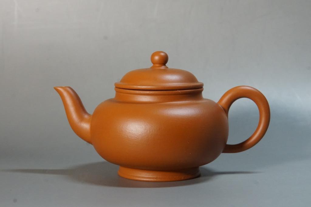 80至90年代 朱泥壺130cc 早期  紫砂 茶壺