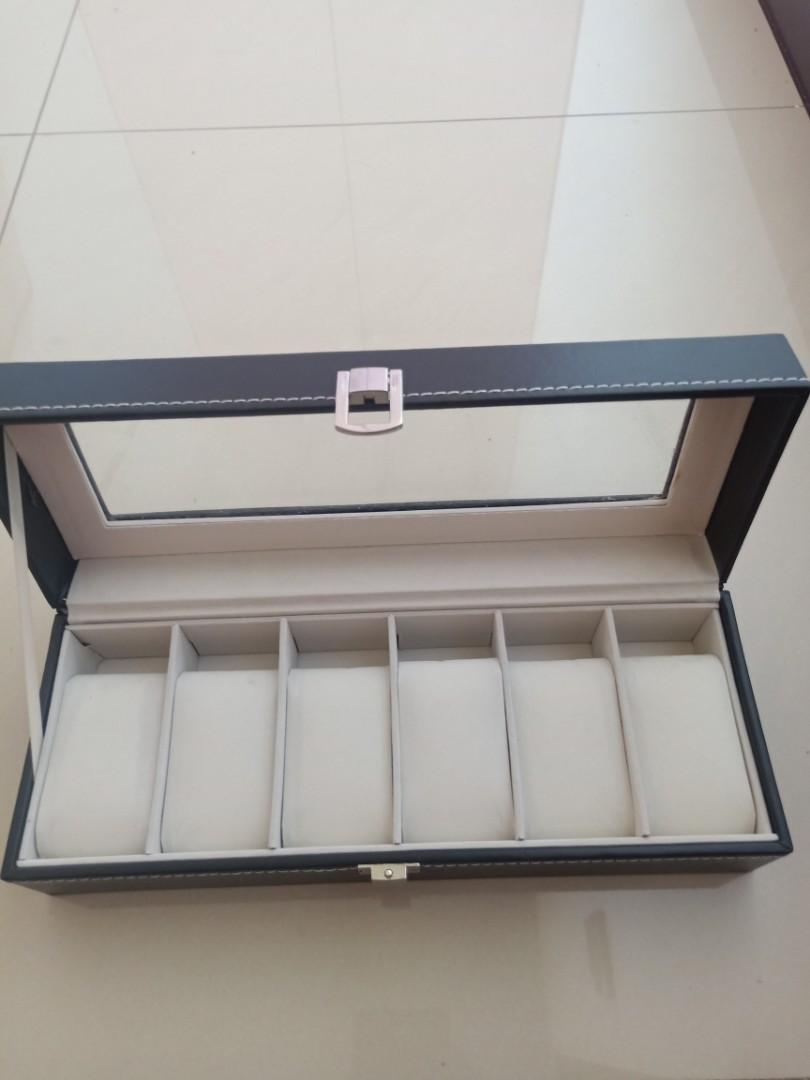 六格高級錶盒