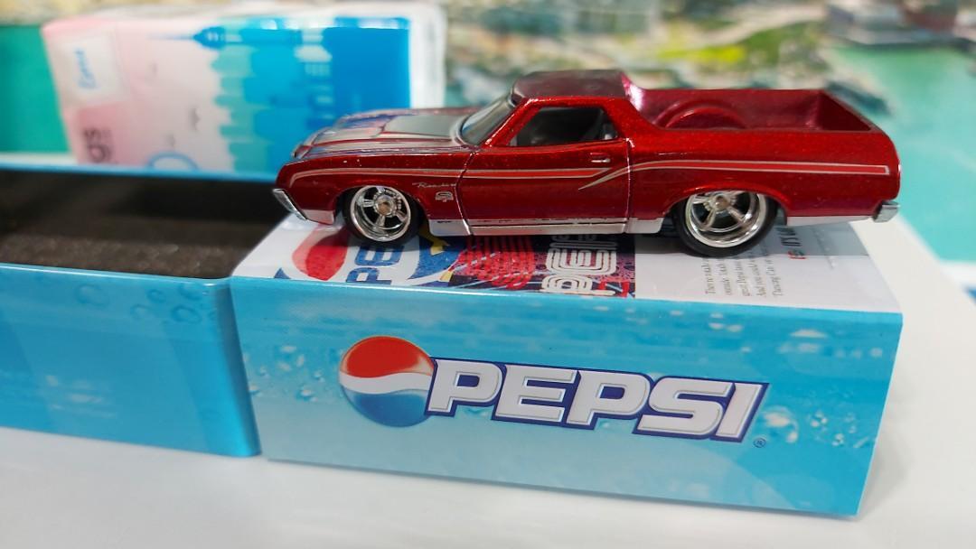 可樂珍藏鐵盒合金車