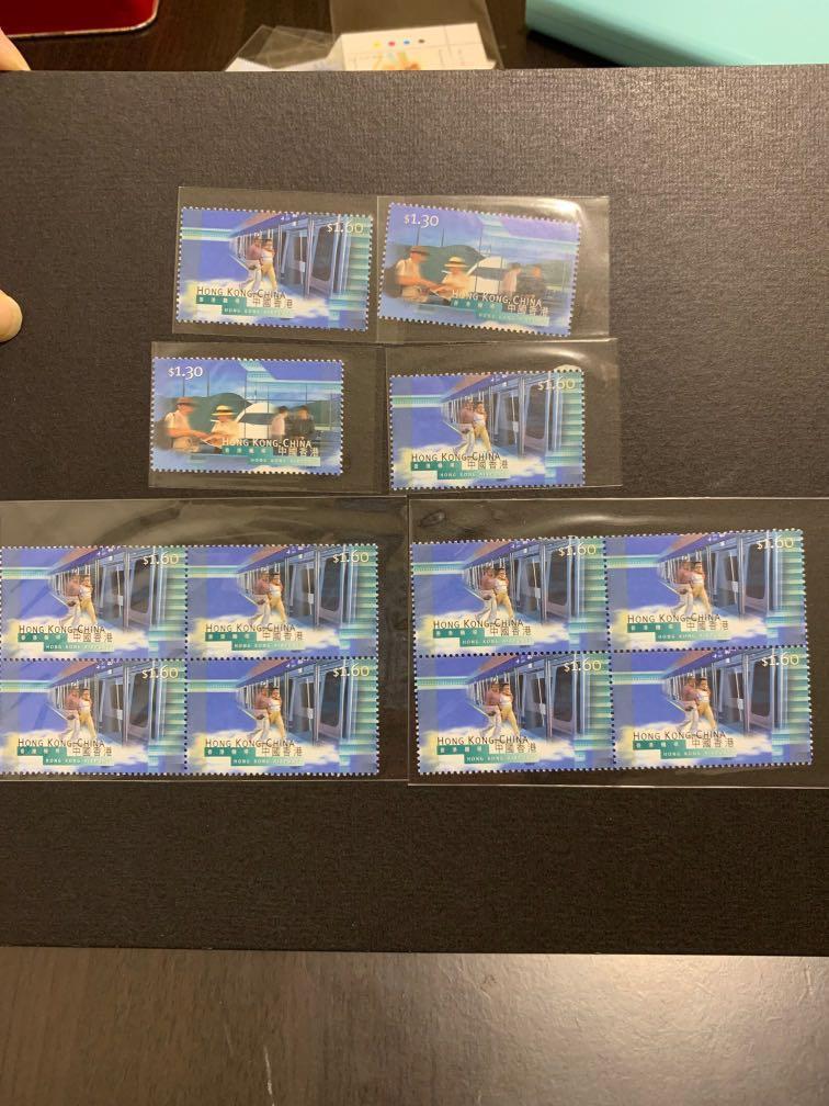 香港通用郵票優惠組合七