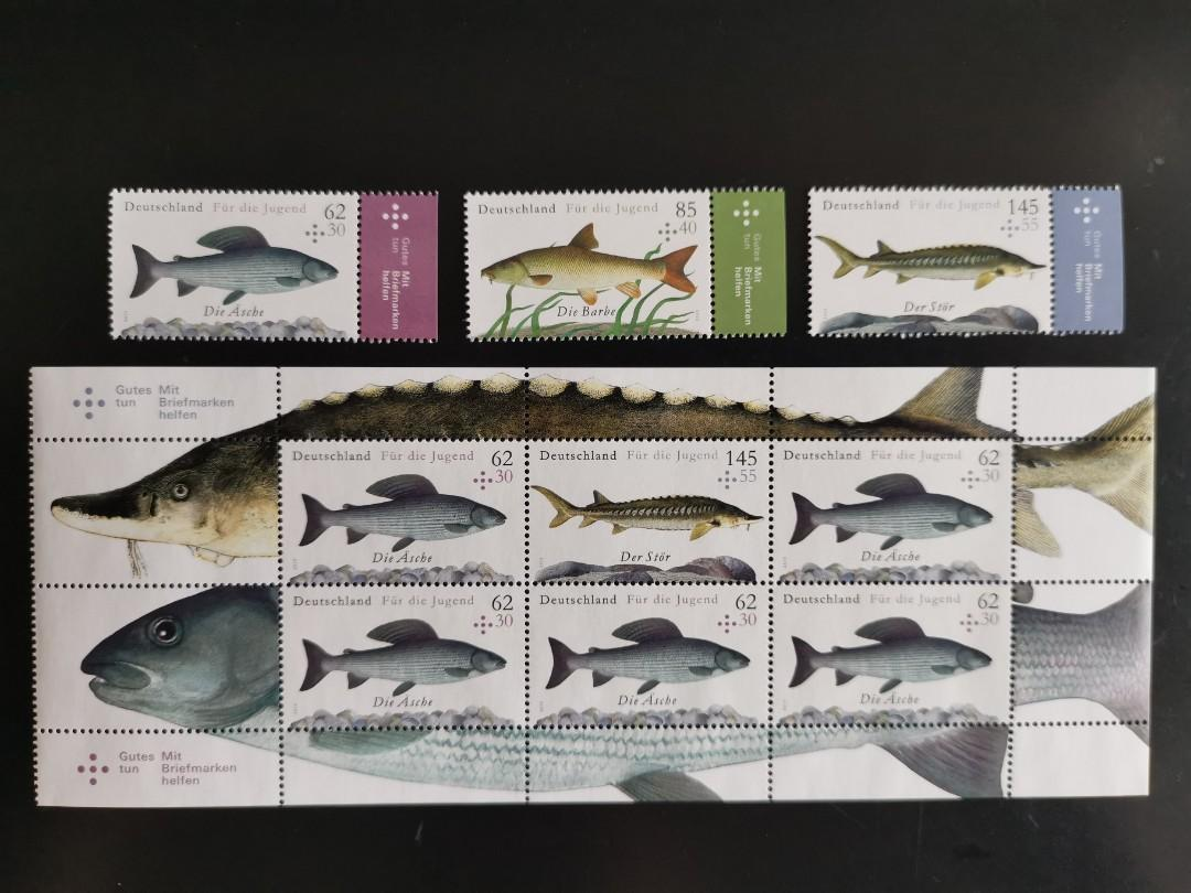 海洋生物郵票 魚類