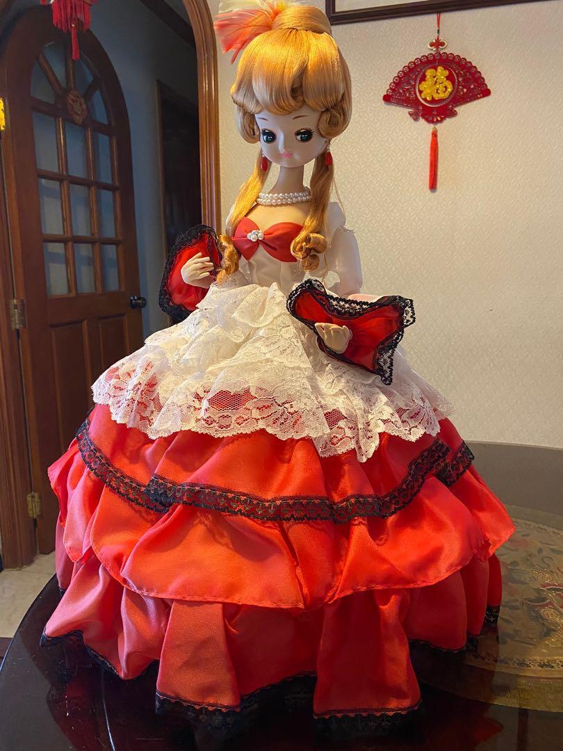 昭和年代 日本古董娃娃 宇山娃娃 Pose Doll