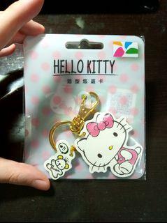 全新 hello kitty 造型 悠遊卡 漫畫風