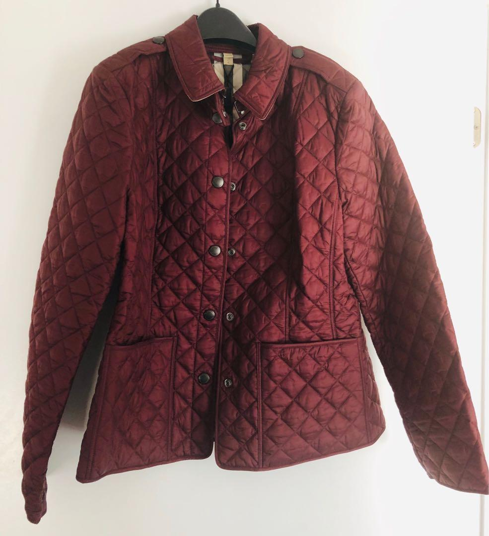Authentic Burberry Quilted Coat