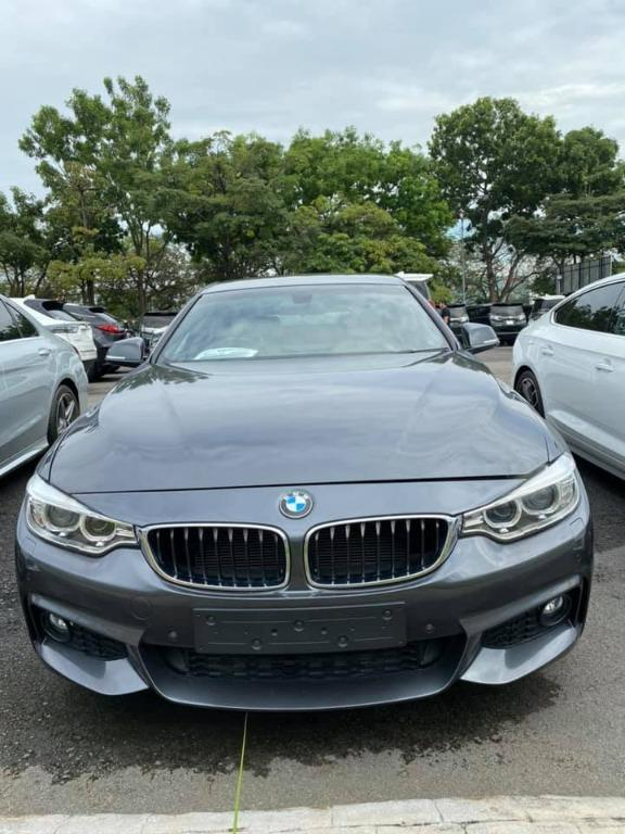 BMW 428i 2015  ( grey )