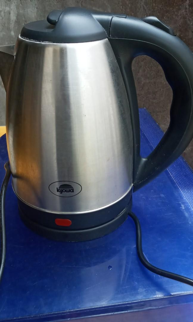 Elec Kettle Used Home Furniture Home Appliances Other Kitchen Appliances On Carousell