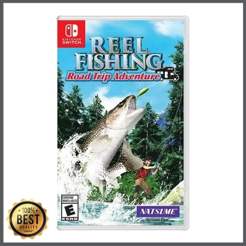 Game Reel Fishing Road Trip Switch Adventure New Original