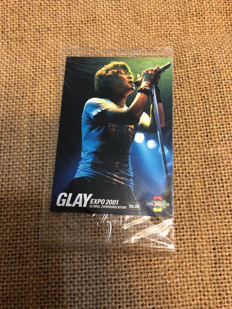Glay Expo 2001 - Card