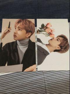 Jisung sg2020 postcard calender