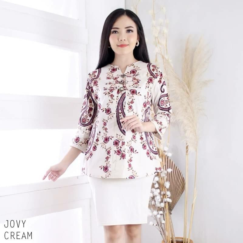 JOVY Batik Top. Unique, Modern Design And Good Quality